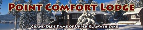 Anders tomlinson designed a website for Point Comfort Lodge in Rocky Point, Oregon on Upper klamath Lake.