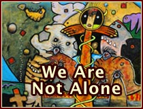 we are not alone, paintings by anders tomlinson, 2015