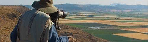 Anders Tomlinson shooting from Sheepy Ridge in Tulelake, CA.