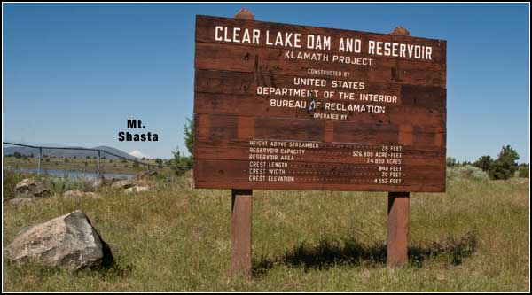 clear lake dam, modoc county, california. tulelake california. photo by anders tomlinson
