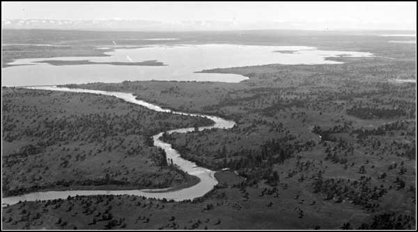 view of the clear lake area in the early 1900's.  exact date is unknown.  modoc county, california.  tulelake california.  photos by anders tomlinson.