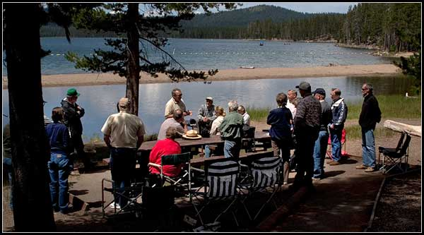 Medicine Lake, medicine lake highlands, modoc national forest, siskiyou county california, modoc county california, photo by anders tomlinson offers boating, swimming, waterskiing, fishing, hiking, camping, and picnicking. photo by anders tomlinson.  ore-cal conservation and development area council