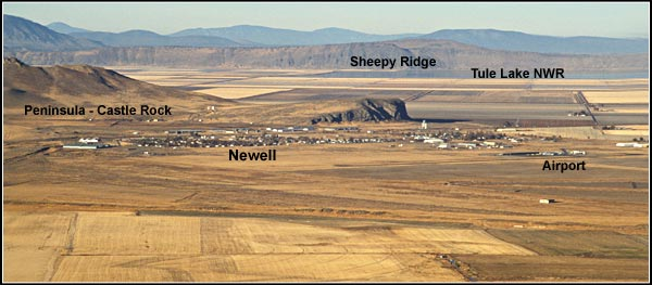 newell from horse mountain.  tulelake california.  photo by anders tomlinson