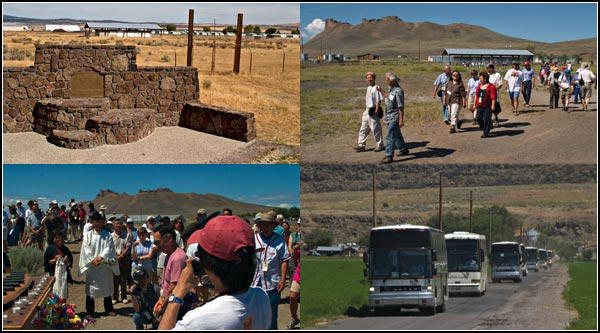 Tule Lake Pilgrimage , Newell calofornia.  photos by anders tomlinson.