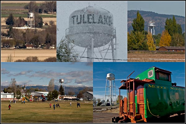 tulelake, california water tower scenes, tule lake basin.  photos by anders tomlinson