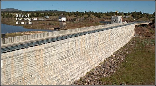 clear lake dam. east side, modoc county california, tulelake california.  photo by anders tomlinson.