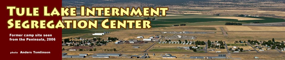 tule lake internment - segregation center photos by anders tomlinson
