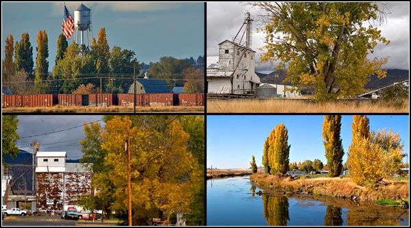 scenes of merrill oregon including the lost river.  photos by anders tomlinson