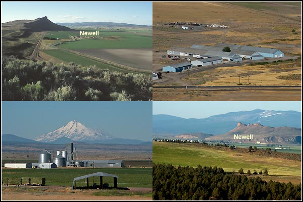 newell,  california business and mountains. tule lake basin.  photos by anders tomlinson.