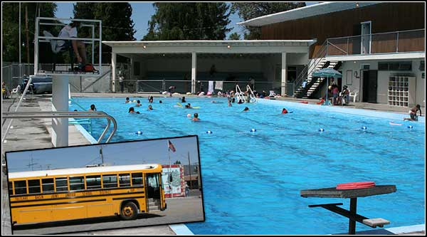 Malin Oregon community pool.  photos by anders tomlinson