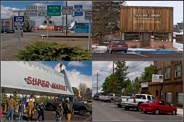 street scenes of downtown tulelake, california.  tule lake basin.  photos by anders tomlinson.