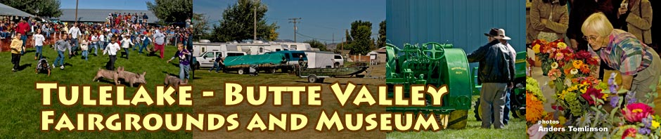 tulelake - butte valley fairgrounds and museum. photos by anders tomlinson