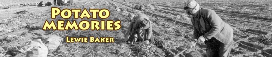 Lewie Baker recalls his early potato farming memories. header. tulelake, ca. photo by department of reclamation