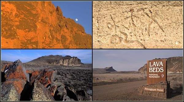 petroglyph point, lava beds national monument, tulelake,ca.  four scenes.   photos by anders tomlinson.