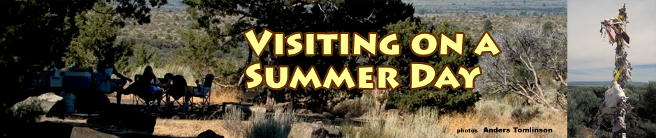 an august day in 2005, lava beds national monument, tulelake, ca.  photos by anders tomlinson