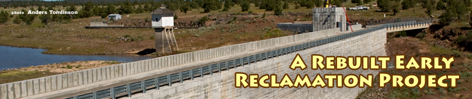 clear lake dam header. photo by anders tomlinson