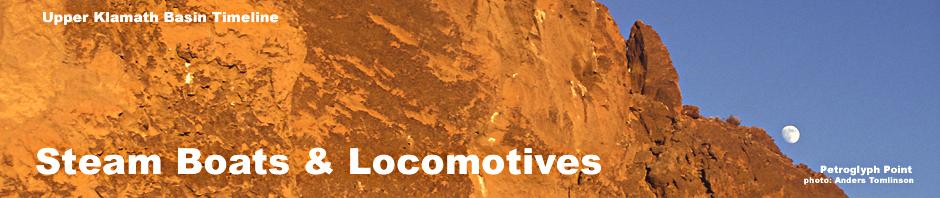 petroglyph point. lava beds national monument, tulelake basin, photo by anders tomlinson. modoc county, header for upper klamath basin history timeline 1900 -1909