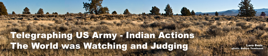 lava beds national monument. header for modoc indian wars historic timeline. photo by anders tomlinson.