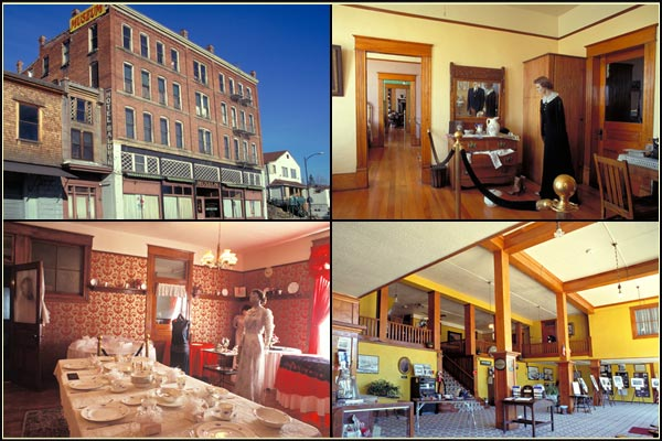 photos of baldwin museum, klamath county, oregon.  photos by anders tomlinson