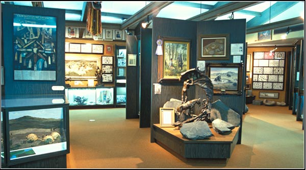 favell museum interior, klamath falls, oregon.  photo by anders tomlinson