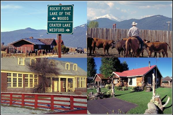 four fort klamath scenes, klamath county.  photos by anders tomlinson