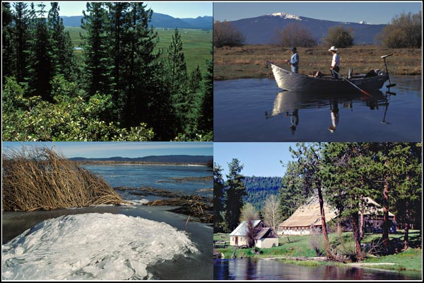 wood river scenes, klamath county, oregon. photos by anders tomlinson.