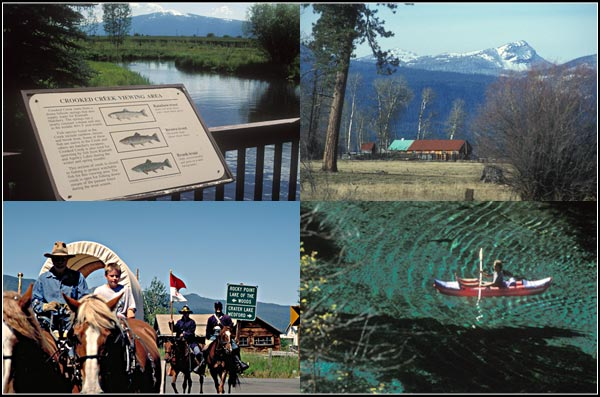 crooked creek fish hatchery, wood river, kimball park, fort klamath.  photos by anders tomlinson.