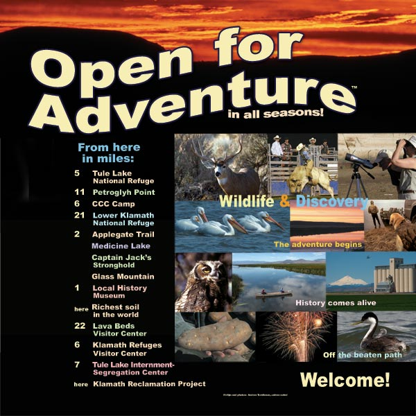 all the attractions - destinations within 29 miles of the tulelake, california rest stop