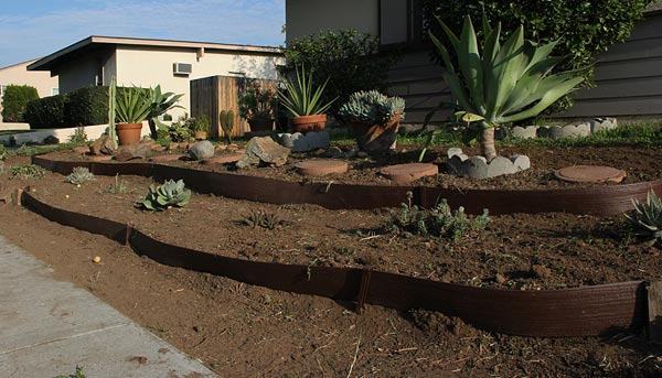 allied gardens, san diego, ca. house. 02-13-14. photo by anders tomlinson. story of building a smart water yard. multi-media project: film by anders tomlinson. garden and music by SonicAtomics.