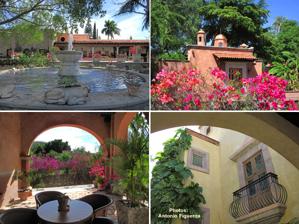 Photos of Hacienda de los Santos in Álamos, Sonora, México by Antonio Figueroa, March, 2017.