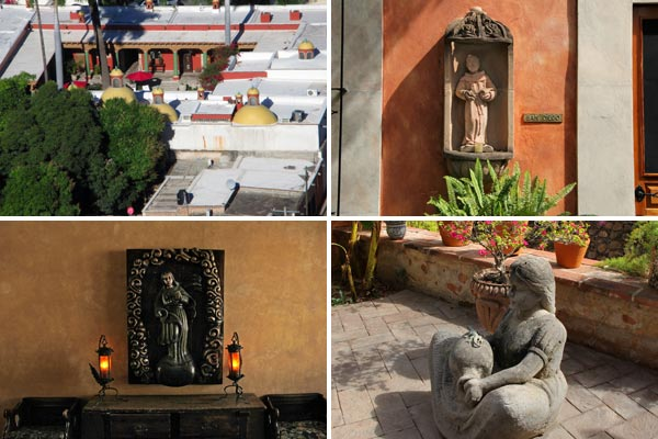 Photos of Hacienda de los Santos in Álamos, ßonora, México by Anders Tomlinson, March, 2017.