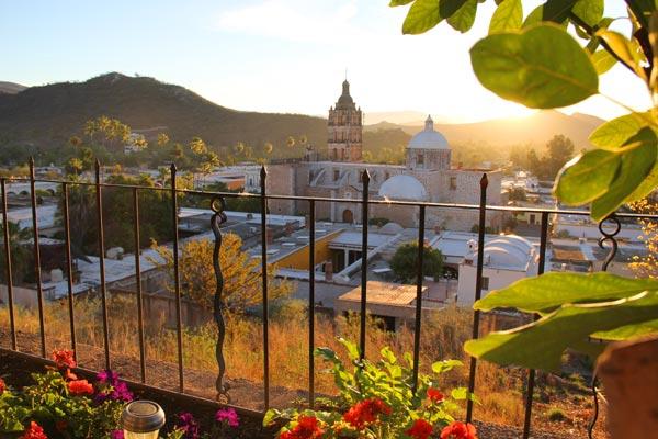 Sunrise at Numero Nueve, Loma de Guadalupe, Casa Serena Vista, Álamos, Sonora, México. photo by Anders Tomlinson March 2, 2017