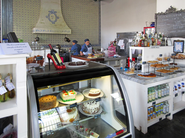 Teresita's Panaderia and Bistro in Álamos, Sonora, México, March 2017. Photo by Anders Tomlinson. view of kitchen area