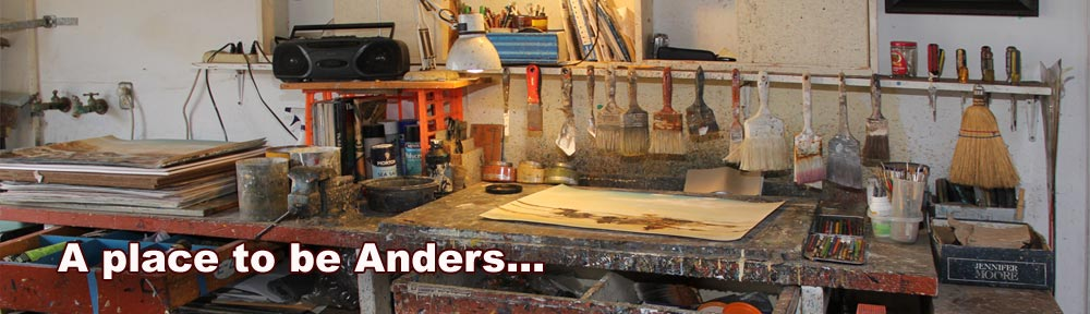 Anders Tomlinson paint studio header